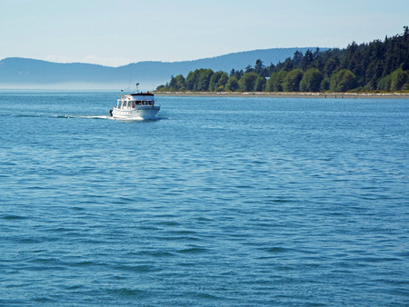 puget: On the Water in Puget Sound Washington State USA Stock Photo