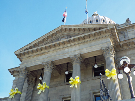 downtown capitol: Domed Capitol Building in Boise Idaho USA Editorial