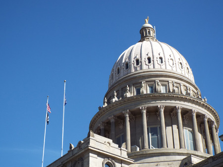 Domed Capitol Building in Boise Idaho USA Editorial