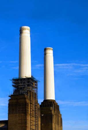 battersea: Battersea Power Station Stock Photo