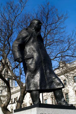 winston: Winston Chuschill as in Parliament Square