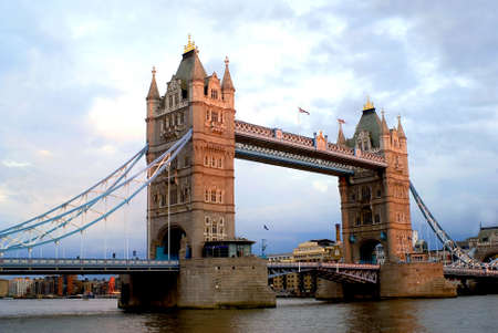 Tower Bridge by Day Stock Photo