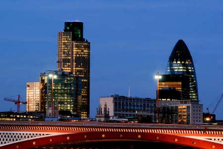 London Profile Stock Photo