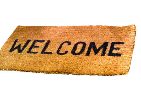 courteous: Welcome Stock Photo
