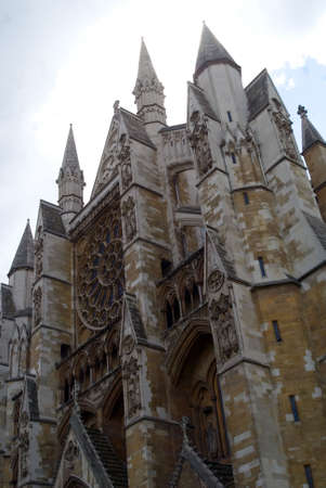 workship: Westminster Abbey by Day Stock Photo