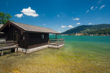 Tegernsee near Rottach-Egern in Bavaria - Germany photo