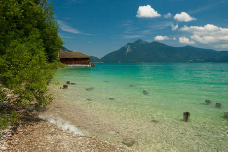 Lake Walchensee in Bavaria - Germany photo