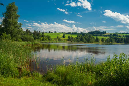 Soier lake near Bad Bayersoien in Bavaria - Germany photo