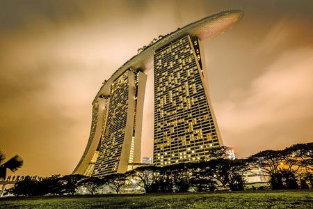 Marina Bay Sands Hotel Éditoriale