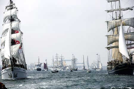 sailer: Largest parade of windjammers in the world during Kiel Week