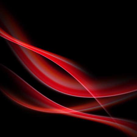 red swirl: Design elegante astratto con spazio per il vostro testo