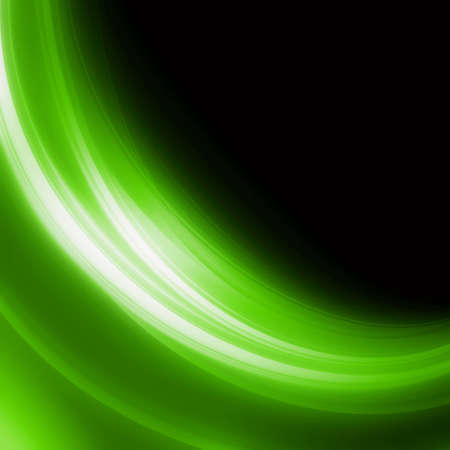 green lines: Abstract elegant background design with space for your text