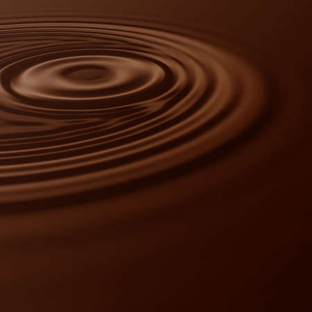 hot surface: Illustrated hot chocolate wave background design Stock Photo