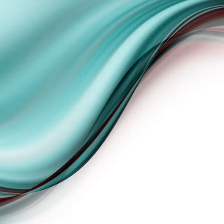 aquamarine: Abstract elegant background design with space for your text