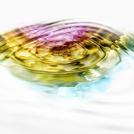 Ilustrovaná vlna pozadí design Reklamní fotografie - 9975435