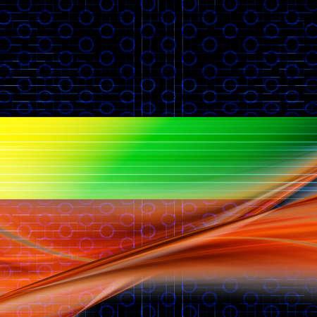 Fantastic abstract elegant and powerful background design illustration Stock Illustration - 10821468