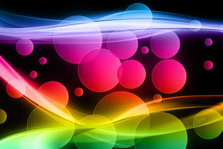Fantastic powerful background design illustration with bubbles Stock Illustration - 12334869