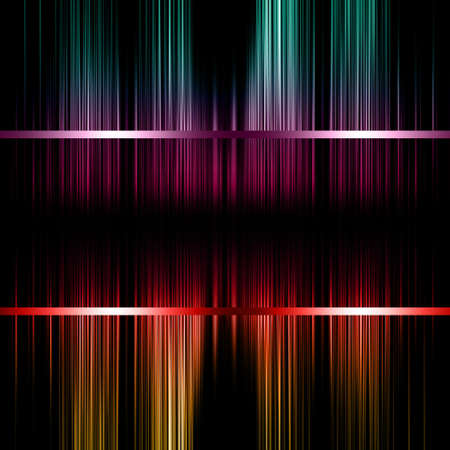 Wonderful abstract illustrated decorative stripe background design  photo