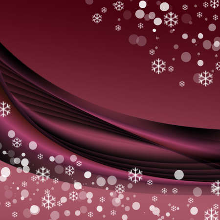 Wonderful winter or christmas background with space for your text Stock Photo
