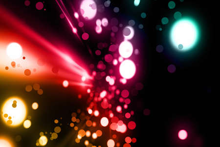 dimensionless: Futuristic light background design with bubbles Stock Photo
