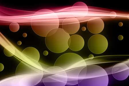 Fantastic powerful background design illustration with bubbles illustration