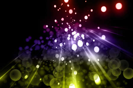 thoughtless: Futuristic light background design with bubbles Stock Photo