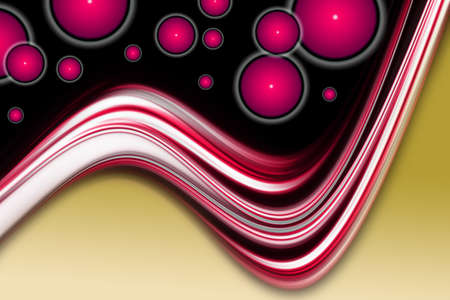 Abstract elegant background design with circle objects and space for your text photo