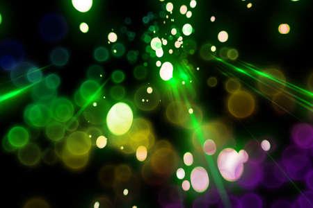 Futuristic light background design with bubbles Stock Photo - 13655619