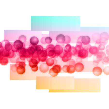 Wonderful design illustration with bubbles illustration