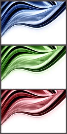 Wonderful set of abstract elegant background design Stock Photo - 14636098