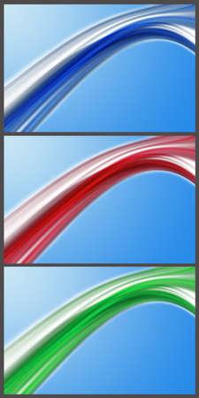 Wonderful set of abstract elegant background design Stock Photo - 14772235