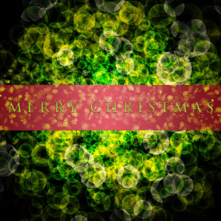 Fantastic Christmas design with glowing snowflakes photo