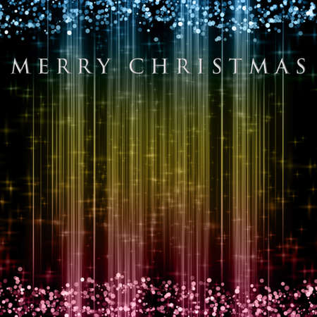 christmas time: Fantastic Christmas design with glowing stars Stock Photo