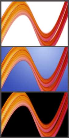 Wonderful set of abstract elegant background design Stock Photo - 15024432