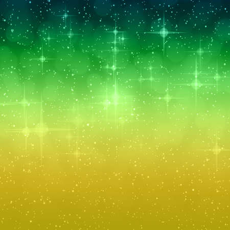 background design: Wonderful Christmas background design illustration with stars and snowflakes