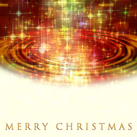 Fantastic Christmas design with glowing stars photo