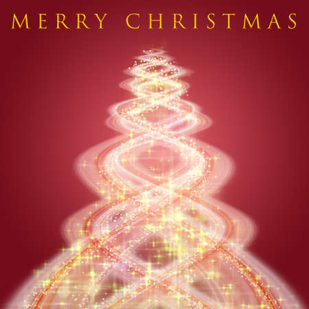 Fantastic Christmas design with glowing stars Stock Photo - 15168318