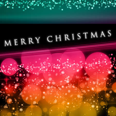Wonderful Christmas background design illustration with bubbles and snowflakes Stock Illustration - 15732681