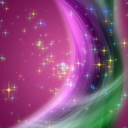 büyülü: Parlayan yıldız ile fantastik Noel dalga tasarım