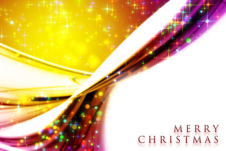 x mas: Fantastic Christmas wave design with glowing stars