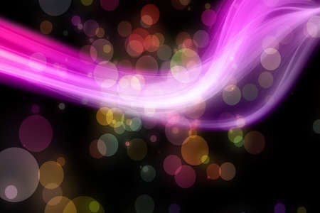 Abstract elegant wave design with bubbles Stock Photo - 16402573