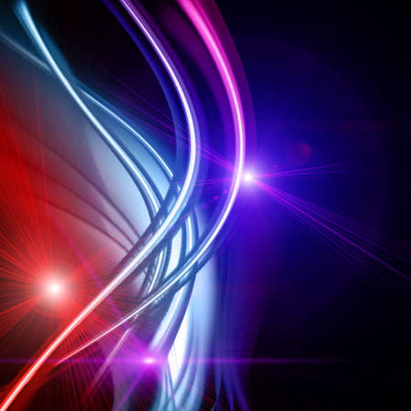 Futuristic technology wave background design with lights Stock Photo - 16623389