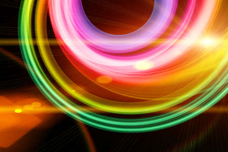 Futuristic technology wave background design with lights Stock Photo - 17061493