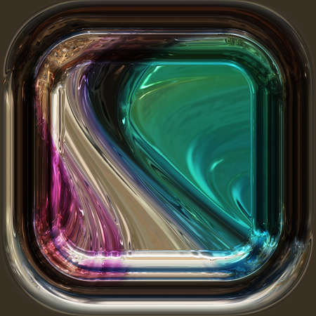 Abstract illustrated wonderful glass background object photo