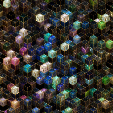 Abstract illustrated wonderful glass background pattern Stock Photo - 19189044