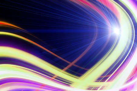 Futuristic technology wave background design with lights Stock Photo - 21081048