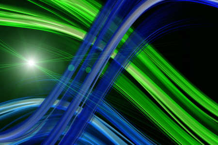 Futuristic technology wave background design with lights Stock Photo - 22315761
