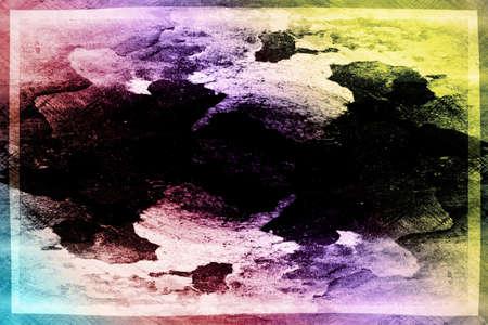 Samenvatting geïllustreerd grunge patroon als achtergrond Stockfoto