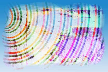 Abstract geïllustreerde grunge achtergrond