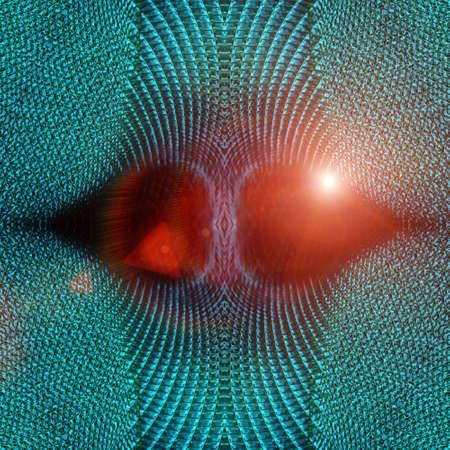 fused: Futuristic technology background design